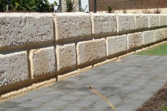 """Limestone Retaining Walls<span class=""""small"""">by experienced professionals</span>"""